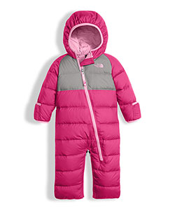 The North Face Baby Girls' Lil' Snuggler Down Bunting - CookiesKids.com