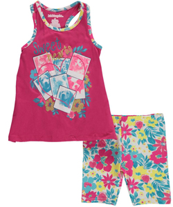 "Kidtopia Little Girls' ""Sweetheart Pets"" 2-Piece Outfit (Sizes 4 – 6X) - CookiesKids.com"