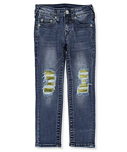 Girls' Skinny Jeans by True Religion in Denim blue
