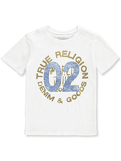 Boys' T-Shirt by True Religion in White