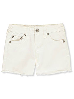 Girls' Shorts by True Religion in White