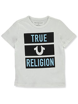 Boys' Graphic T-Shirt by True Religion in White, Boys Fashion