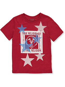 Boys' Graphic T-Shirt by True Religion in Ruby red