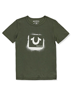 Boys' Graphic T-shirt by True Religion in Olive