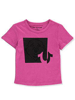 Girls' Graphic T-Shirt by True Religion in Pink, Girls Fashion