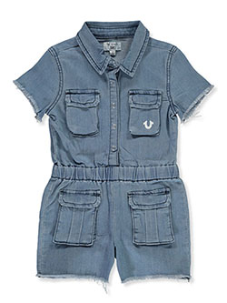 Girls' Denim Jumper by True Religion - Overalls & Jumpers