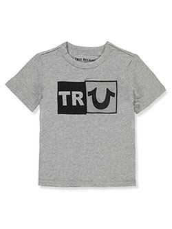 Boys' Graphic T-Shirt by True Religion in heather gray and ruby red