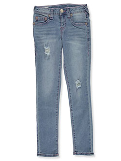 Girls' Skinny Jeans by True Religion in Blue, Girls Fashion