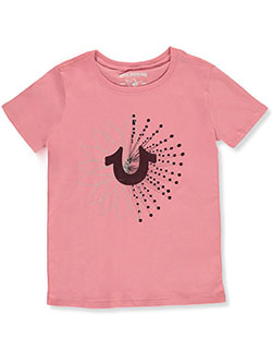 Girls' Graphic T-Shirt by True Religion in Dusty/pink, Girls Fashion