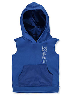 Boys' Sleeveless Hoodie by True Religion in Royal blue, Boys Fashion