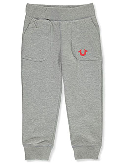 Girls' Joggers by True Religion in Heather gray
