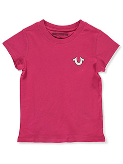 Girls' Graphic T-Shirt by True Religion in Fuchsia