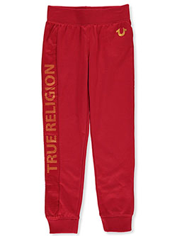 Girls' Joggers by True Religion in Red