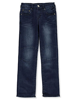 Boys' Knee Patch Jeans by True Religion in Indigo