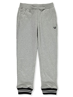 Boys' Joggers by True Religion in Heather gray