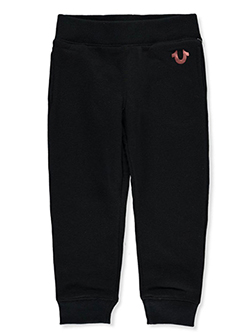 Girls' Joggers by True Religion in black and heather gray, Girls Fashion