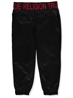 Boys' Tricot Joggers by True Religion in Black