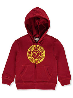 Boys' Zip Hoodie by True Religion in Red, Boys Fashion