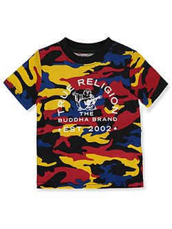 Boys' Allover Print T-Shirt by True Religion in Camouflage, Boys Fashion