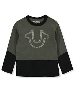 Boys' Paneled L/S T-Shirt by True Religion