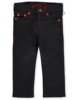 Boys' Manchester United Jeans by True Religion in Black, Boys Fashion