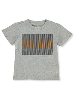 Boys' Graphic T-Shirt by True Religion in heather gray and yellow, Boys Fashion