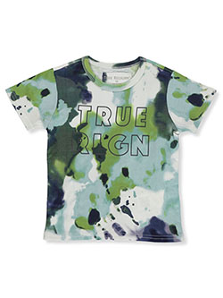 Boys' Allover Print Graphic T-Shirt by True Religion in White, Boys Fashion