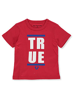 Boys' Graphic T-Shirt by True Religion in red and royal blue, Boys Fashion