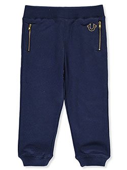 Boys' Zip Pocket Joggers by True Religion in Navy