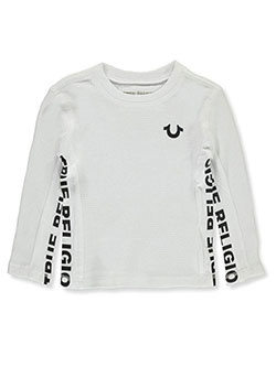 Boys L/S Graphic T-Shirt by True Religion in White