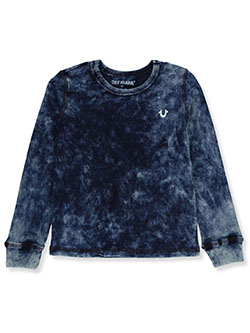 Boys L/S Graphic T-Shirt by True Religion in Indigo