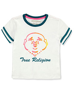 Girls' Graphic T-Shirt by True Religion in White
