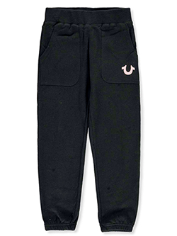 Girls' Joggers by True Religion in Black, Girls Fashion