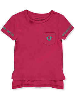 Girls' Graphic T-Shirt by True Religion in Fuchsia, Girls Fashion