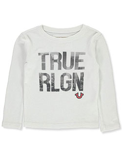 Boys' Graphic L/S T-Shirt by True Religion in White
