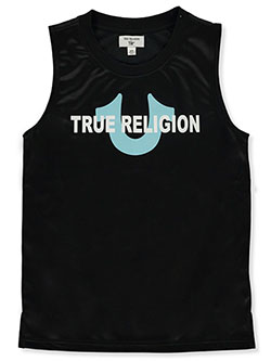 Boys' Graphic Tank Top by True Religion in Black - $24.00