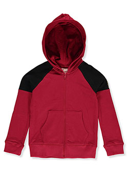 Girls' Zip Hoodie by True Religion in Ruby, Girls Fashion