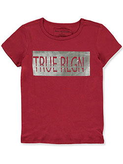 Girls' Graphic T-Shirt by True Religion in True red, Girls Fashion