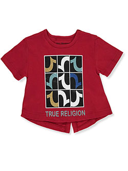 Girls' Graphic T-Shirt by True Religion in Ruby