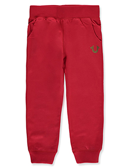 Girls' Joggers by True Religion in Red, Sizes 4-6X