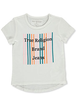 Girls' Graphic T-Shirt by True Religion in White, Sizes 4-6X