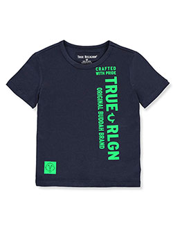 Boys' Graphic T-Shirt by True Religion in Navy, Sizes 4-7