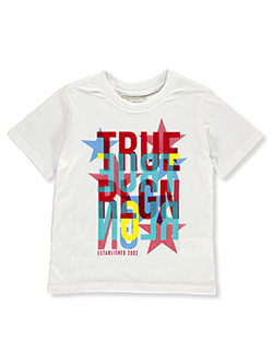 Boys' Graphic T-Shirt by True Religion in White, Sizes 4-7