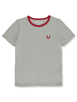 Boys' Graphic T-Shirt by True Religion in heather gray and white
