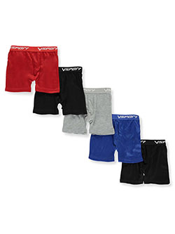 Boys' 5-Pack Boxer Briefs by Vsport in Multi