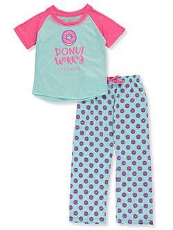 Girls' Donut Worry 2-Piece Pajamas by Chili Peppers in Multi