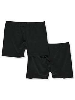 Girls' 2-Pack Play Shorts Underwear by Marilyn Taylor in Black, Girls Fashion