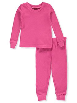 Thermal 2-Piece Long Underwear Set by Ice2O in fuchsia, lavender, purple and more