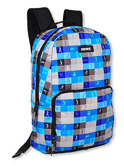 Fortnite Backpack by United Legwear in black combo and blue/black