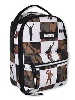 Llama Lunchbox by Fortnite in black/camo and blue